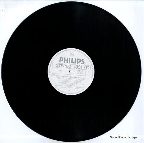 ZAMFIR pour la douce souvenance 28PP-16 - disc