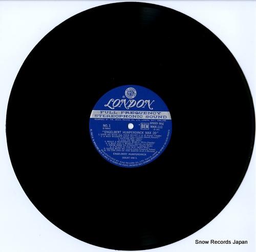 HUMPERDINCK, ENGELBERT max 20 MAX111 - disc