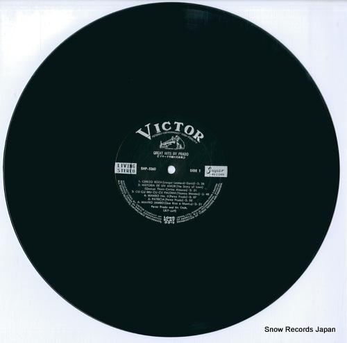 PRADO, PEREZ great hits by prado SHP-5260 - disc