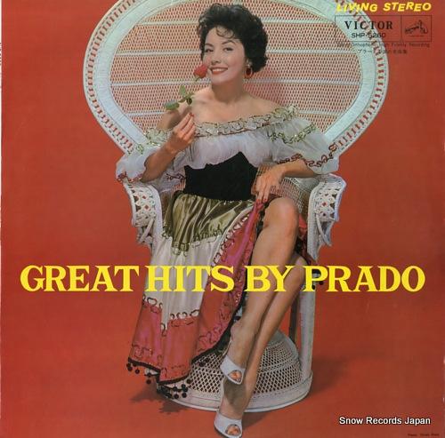 PRADO, PEREZ great hits by prado SHP-5260 - front cover