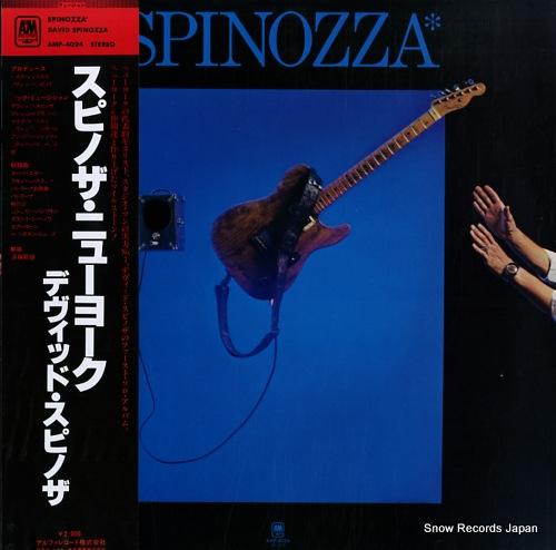 SPINOZZA, DAVID spinozza AMP-4024 - front cover