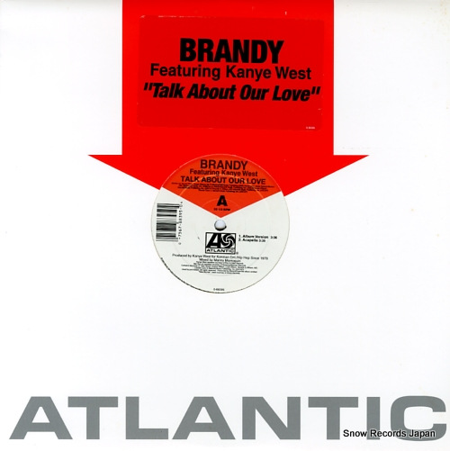 BRANDY talk about our love 0-88395 - front cover