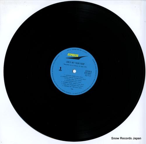 TULIP live act tulip ETP-9097 - disc