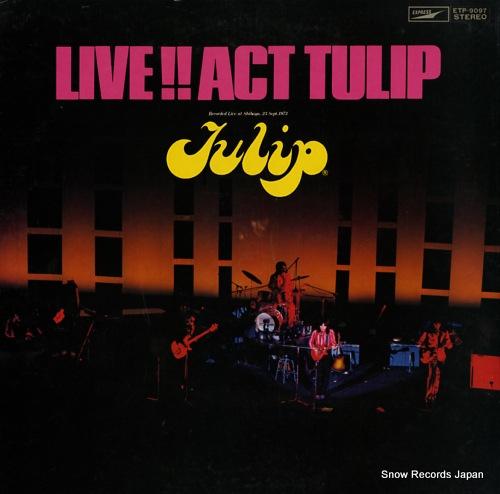TULIP live act tulip ETP-9097 - front cover