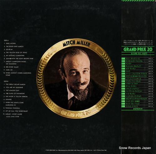MILLER, MITCH grand prix 20 29AP48 - back cover