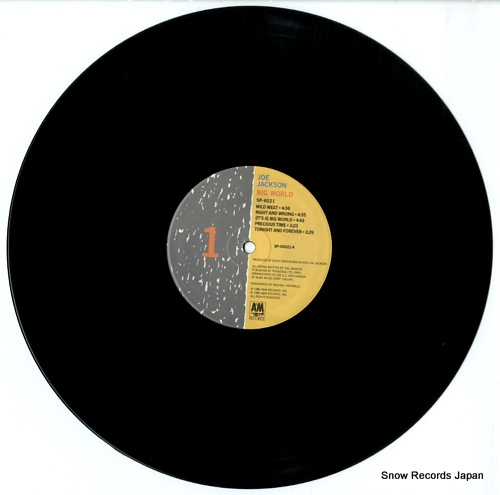 JACKSON, JOE big world SP6021 - disc