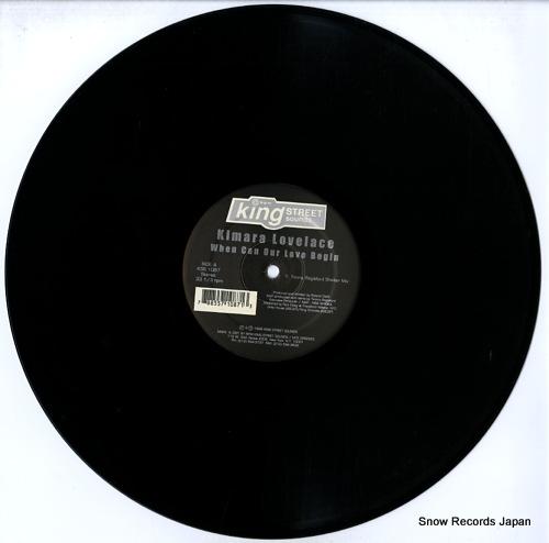 LOVELACE, KIMARA when can our love begin KSS-1087 - disc