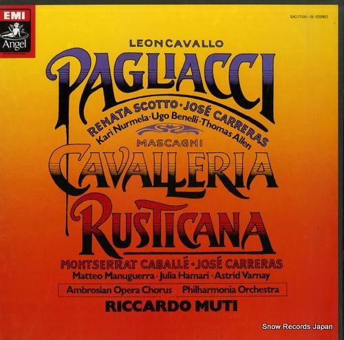リッカルド・ムーティ マスカーニ:歌劇「カヴァレリア・ルスティカーナ」 EAC-77330-32