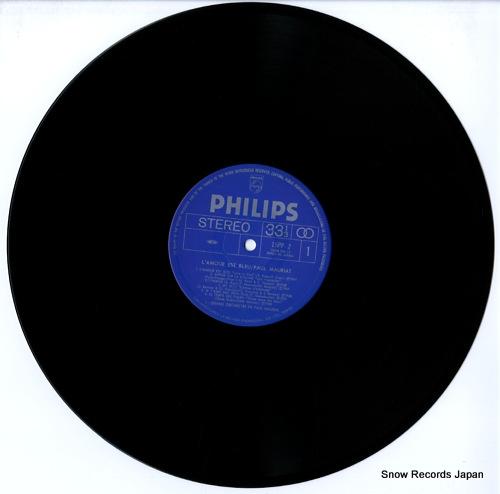 MAURIAT, PAUL l'amour est bleu 15PP-2 - disc
