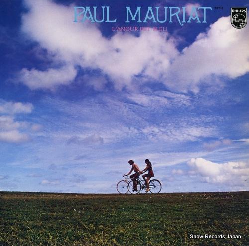 MAURIAT, PAUL l'amour est bleu 15PP-2 - front cover