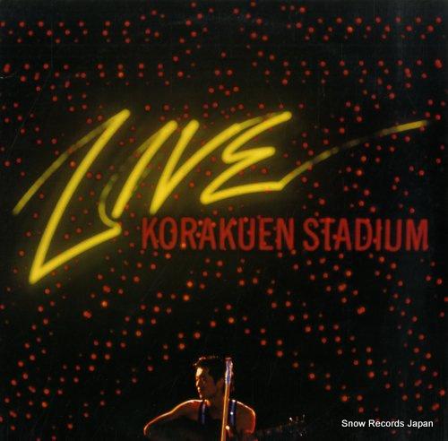 YAZAWA, EIKICHI live korakuen stadium 40AH645-6 - front cover