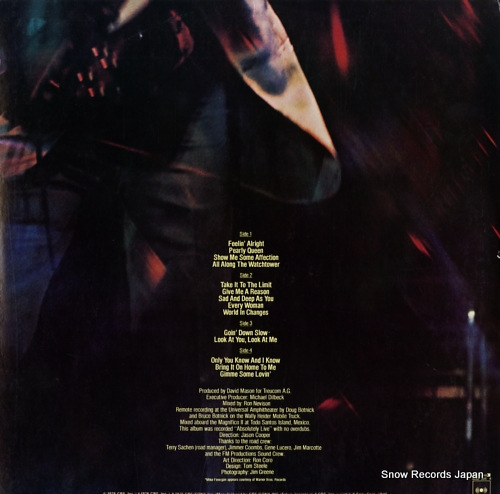 MASON, DAVE certified live 40AP305-6 - back cover