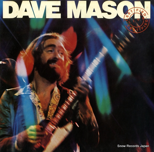 MASON, DAVE certified live 40AP305-6 - front cover
