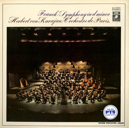 KARAJAN, HERBERT VON franck; symphony in d minor AA-8655 - front cover