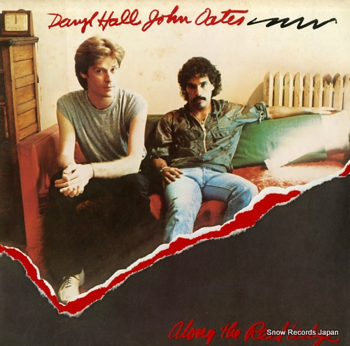 HALL, DARYL, AND JOHN OATES along the red ledge RVP-6318 - front cover