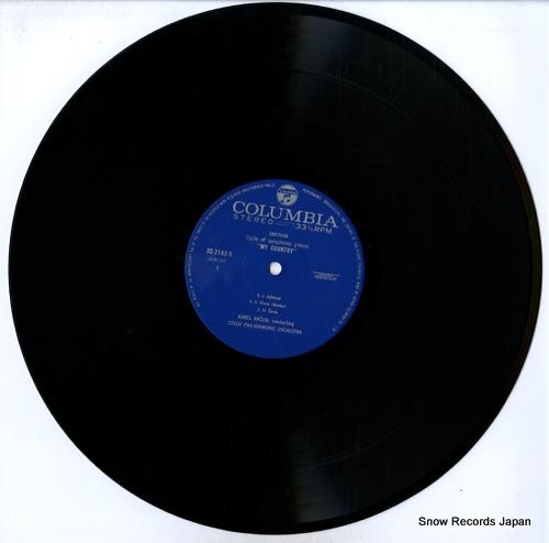 ANCERL, KAREL smetana; cycle of symphonic poems