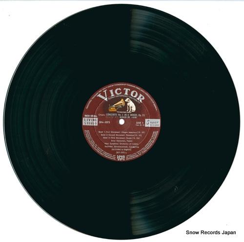 RUBINSTEIN, ARTUR chopin; concertos no.1 & 2 SRA-2075 - disc
