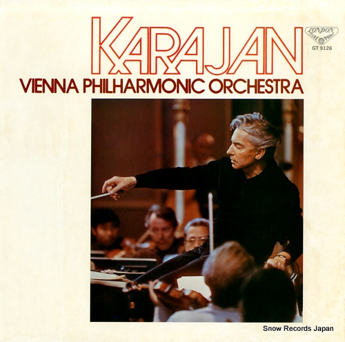 KARAJAN, HERBERT VON mozart; symphony no.40 in g minor, k.550 GT9126 - front cover