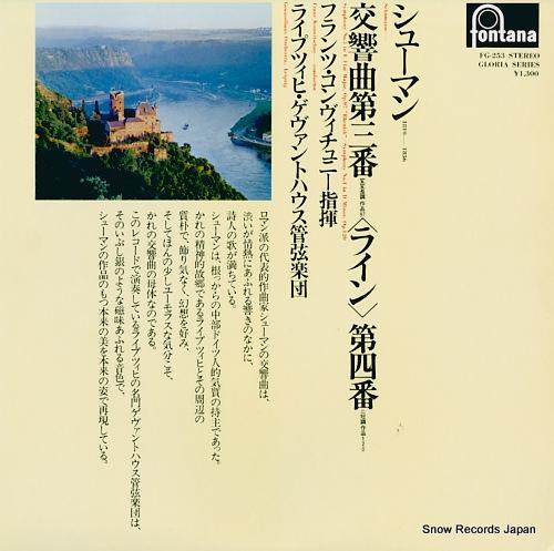 KONWITSCHNY, FRANZ schumann; symphony no.3