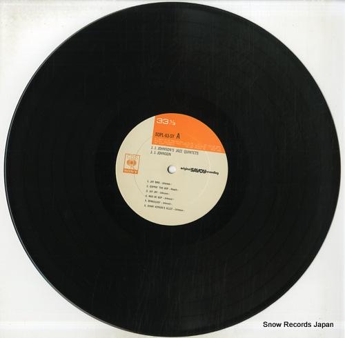 JOHNSON, J.J. j.j.johnsons jazz quintets SOPL63-SY - disc
