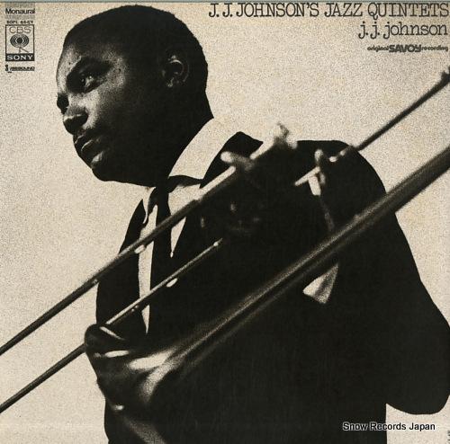 JOHNSON, J.J. j.j.johnsons jazz quintets SOPL63-SY - front cover
