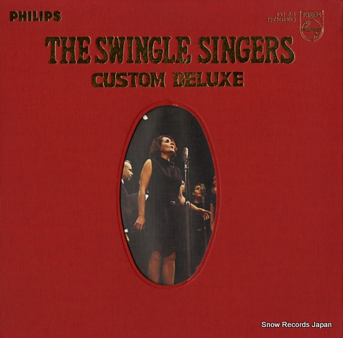 SWINGLE SINGERS, THE custom deluxe FD-25 - front cover