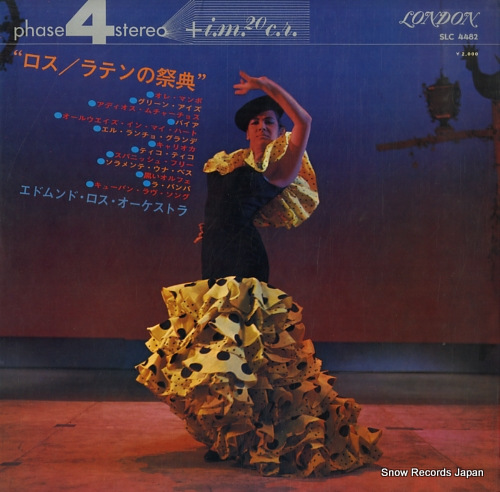 ROS, EDMUNDO carnival of latin rhythms SLC4482 - back cover