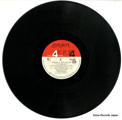 ROS, EDMUNDO carnival of latin rhythms SLC4482 - disc
