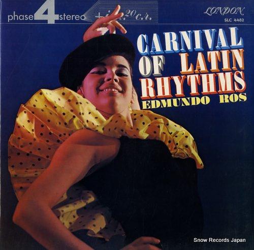 ROS, EDMUNDO carnival of latin rhythms SLC4482 - front cover