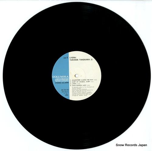 TAKEKAWA, YUKIHIDE lyena AX-7262-AX - disc