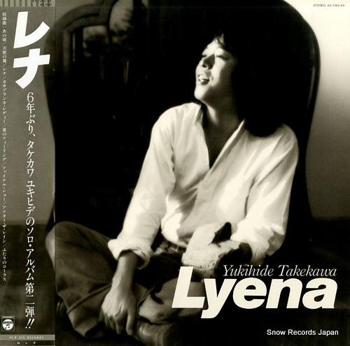 TAKEKAWA, YUKIHIDE lyena AX-7262-AX - front cover
