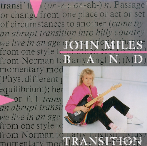 MILES, JOHN, BAND transition 790476-1 - front cover