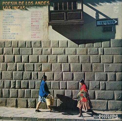 LOS INCAS poesia de los andes FDX-9015-6 - back cover