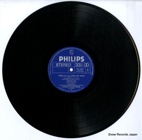LOS INCAS poesia de los andes FDX-9015-6 - disc
