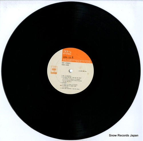 CARR, VIKKI hoy (today) SOPN110 - disc