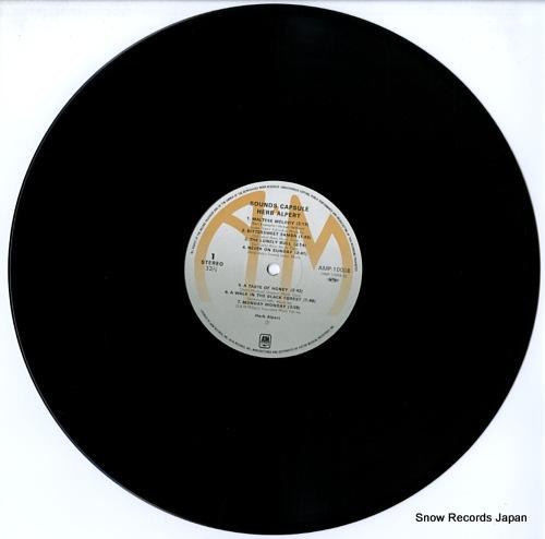ALPERT, HERB sounds capsule herb alpert AMP-10008 - disc