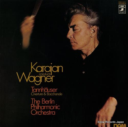 KARAJAN, HERBERT VON wagner; tannhauser overture & bacchanale DOR-0031 - front cover