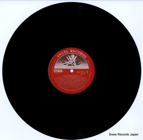 V/A famous operatic arias vol.1 EAC-70130 - disc