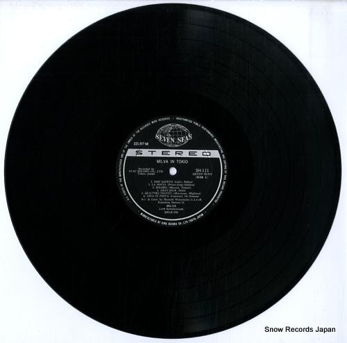 MILVA milva in tokio SH111 - disc