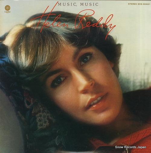 REDDY, HELEN music, music ECS-80621 - front cover