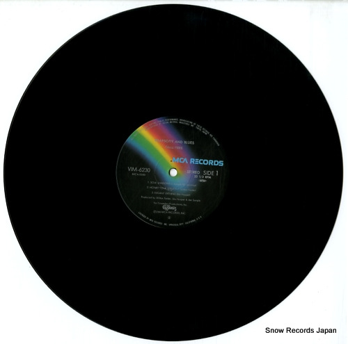 CRUSADERS, THE rhapsody and blues VIM-6230 - disc