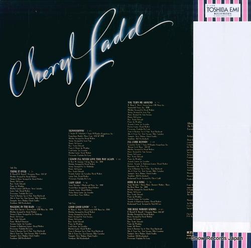 LADD, CHERYL cheryl ladd ECS-81099 - back cover