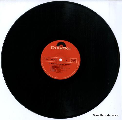 MOUSTAKI, GEORGES le meteque MP2144 - disc