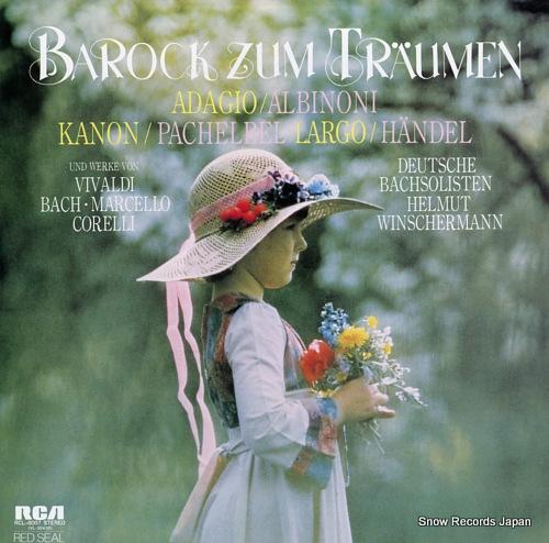 WINSCHERMANN, HELMUT barock zum traumen RCL-8007 - front cover