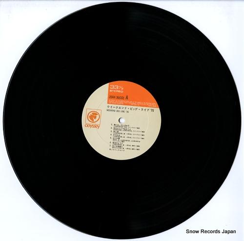 WEEKEND weekend big live '76 25AH36 - disc