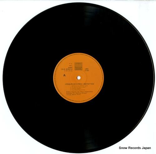 TURNER, BRUNO josquin des prez; motetten ULS-3153-H - disc
