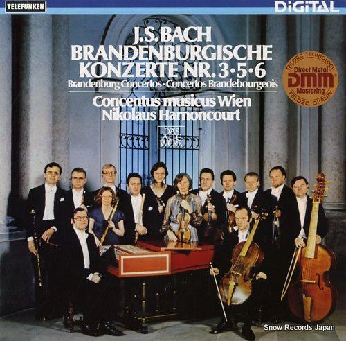 ニコラウス・アーノンクール - バッハ:ブランデンブルク協奏曲 ...