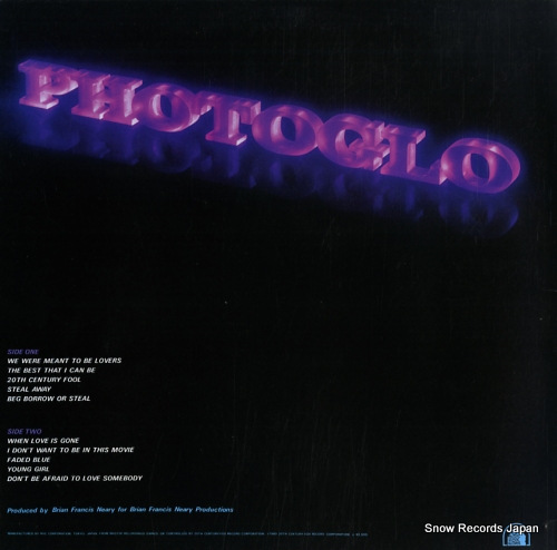 PHOTOGLO, JIM photoglo RVP-6470 - back cover