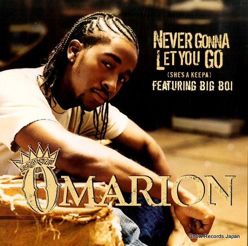 OMARION never gonna let you go (she's a keepa) 49-76979 - front cover