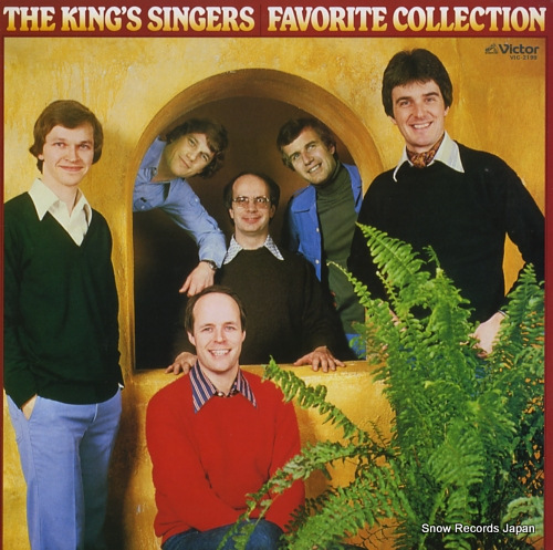 KING SINGERS, THE favorite collection VIC-2199 - front cover